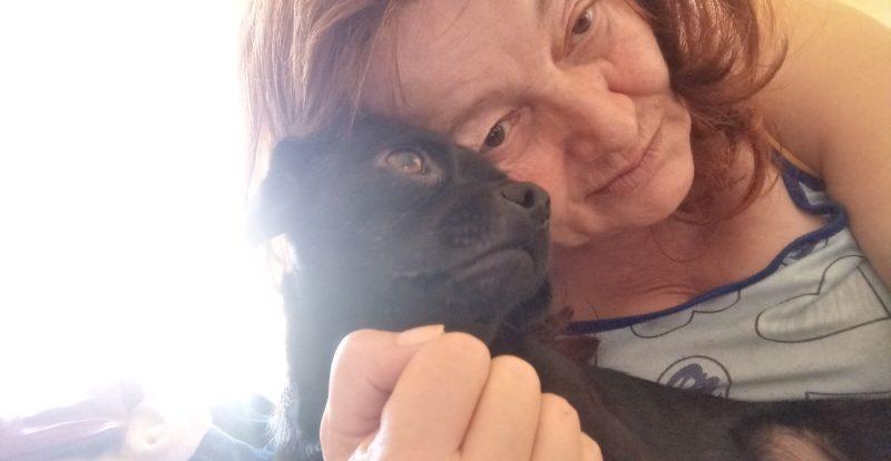Ljiljana sa psom
